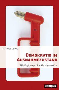 """Cover """"Demokratie im Ausnahmezustand""""."""
